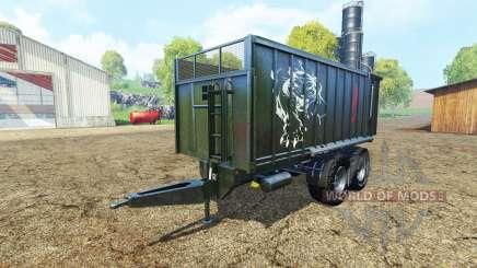 Fliegl TMK 266 black panther edition v1.1 para Farming Simulator 2015