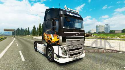 Peles Lamborghini Gallardo para a Volvo caminhões para Euro Truck Simulator 2