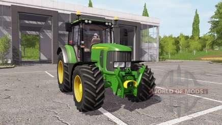 John Deere 6330 v1.1 para Farming Simulator 2017