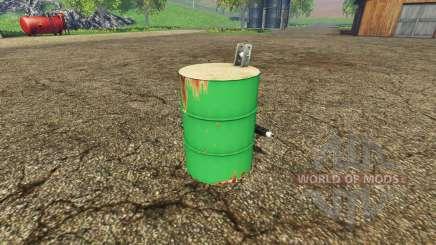 Barrel weight para Farming Simulator 2015