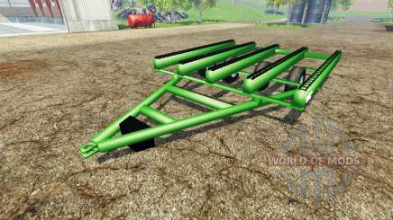 Bale trailer John Deere para Farming Simulator 2015