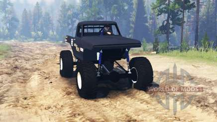 Ford F-100 1970 TTC para Spin Tires