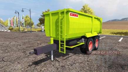 CLAAS tipper trailer para Farming Simulator 2013