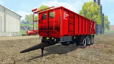 Ponthieux P24A red para Farming Simulator 2015
