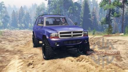 Dodge Durango 1998 para Spin Tires