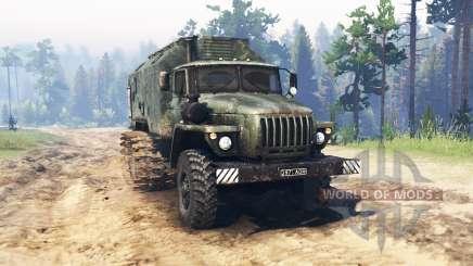 Ural 4320 Pântano para Spin Tires