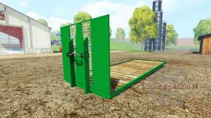 ITRunner plateau para Farming Simulator 2015