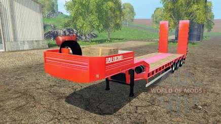 Semitrailer Galucho para Farming Simulator 2015