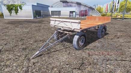Fortschritt HW 80.11 bale trailer para Farming Simulator 2013
