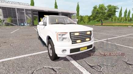 Lizard Pickup TT traffic advisor para Farming Simulator 2017