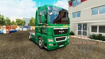 Pele Spedition Bartkowiak no trator HOMEM para Euro Truck Simulator 2