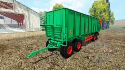 Aguas-Tenias tipper trailer para Farming Simulator 2015