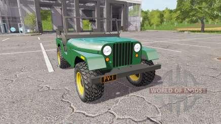 Jeep CJ-5 1972 para Farming Simulator 2017