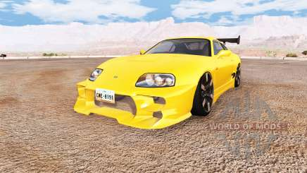 Toyota Supra v1.1 para BeamNG Drive