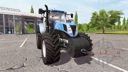 New Holland T7.200 v1.1 para Farming Simulator 2017