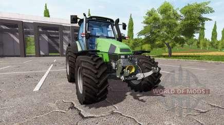 Deutz-Fahr Agrotron 120 Mk3 v1.2 para Farming Simulator 2017