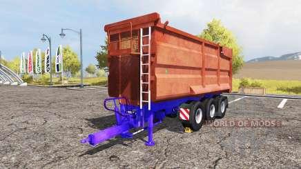 POTTINGER tipper trailer para Farming Simulator 2013