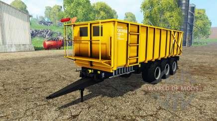 Ponthieux P24A yellow para Farming Simulator 2015