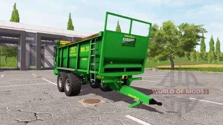 ZDT RM 20 para Farming Simulator 2017