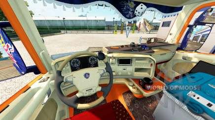 Interior para o Scania truck para Euro Truck Simulator 2