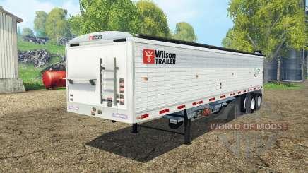 Wilson tender trailer para Farming Simulator 2015