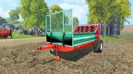 Farmtech Minifex 500 para Farming Simulator 2015