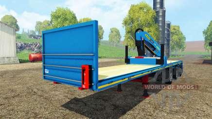 Royen semitrailer para Farming Simulator 2015
