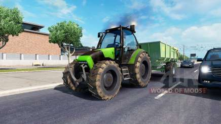 John Deere in traffic para American Truck Simulator