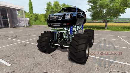Cadillac Escalade lifted para Farming Simulator 2017