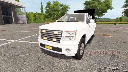 Lizard Pickup TT traffic advisor v1.1 para Farming Simulator 2017