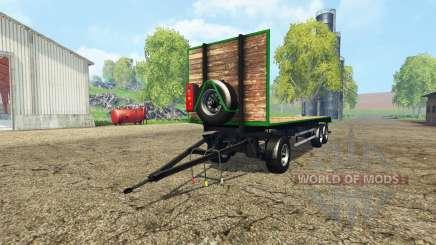 Bale trailer v1.1 para Farming Simulator 2015