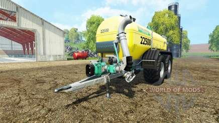 Zunhammer SKE 22.5 PU para Farming Simulator 2015