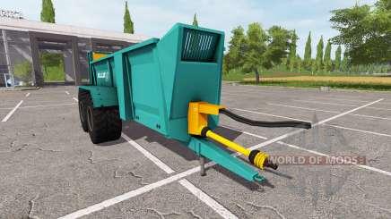 Rolland Roll Twin 205 para Farming Simulator 2017