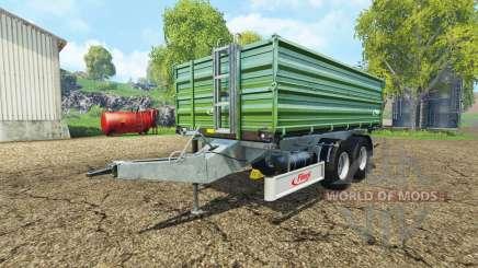 Fliegl TDK 160 plus para Farming Simulator 2015