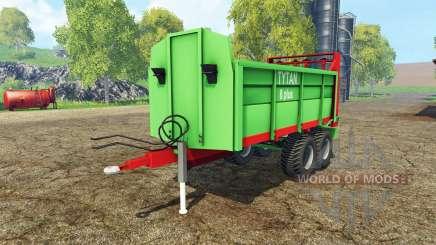 Unia Tytan 8 plus para Farming Simulator 2015