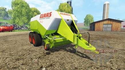 CLAAS Quadrant 2200 RC para Farming Simulator 2015