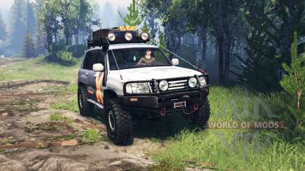 Toyota Land Cruiser 105 v4.0 para Spin Tires