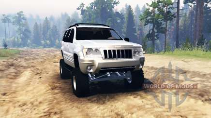 Jeep Grand Cherokee (WJ) 2004 para Spin Tires