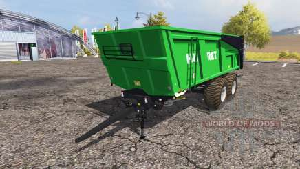 Huret 18T v3.0 para Farming Simulator 2013