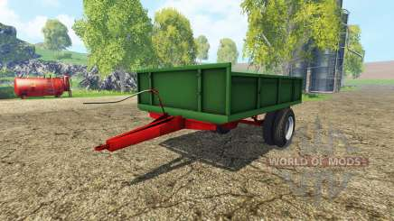 Tractor trailer v1.1 para Farming Simulator 2015