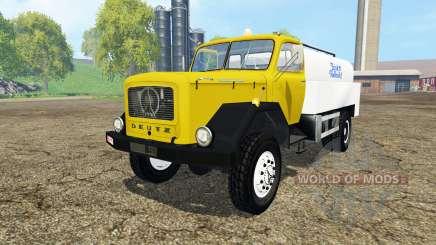 Magirus-Deutz 200D26 1964 milk para Farming Simulator 2015