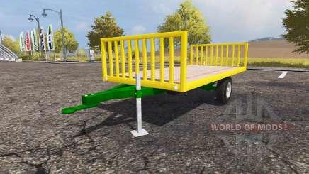 Bale trailer para Farming Simulator 2013