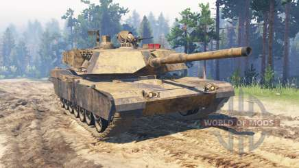 M1 Abrams para Spin Tires