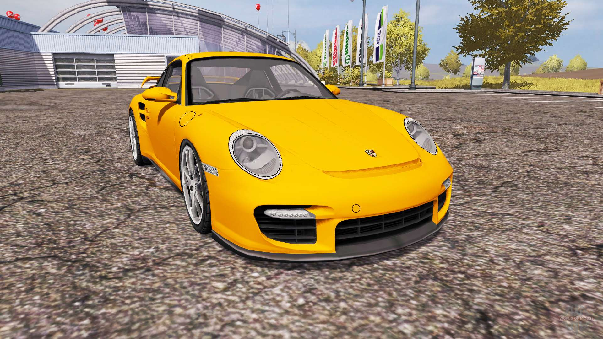 porsche 911 gt2 997 para farming simulator 2013. Black Bedroom Furniture Sets. Home Design Ideas