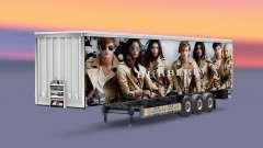 Peles de marcas de luxo no trailer