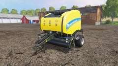 New Holland Roll-Belt 150 wet grass para Farming Simulator 2015