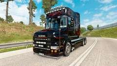 Predador pele para caminhão Scania T-series