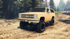 Chevrolet K5 Blazer para Spin Tires