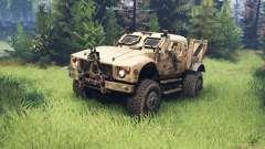 Oshkosh M-ATV para Spin Tires