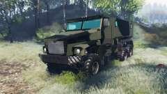 Ural 63095 Tufão U para Spin Tires